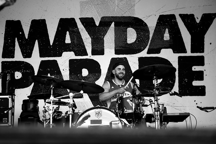 Mayday Parade // Bonner Springs, KS - Shane Haley Photo