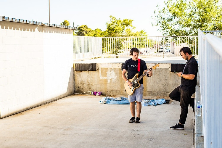 Off Stage - Shane Haley Photo