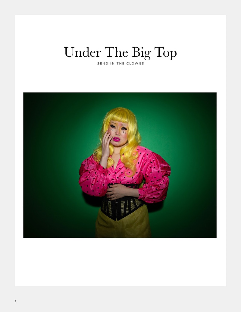 Under The Big Top - Shannon Cottrell