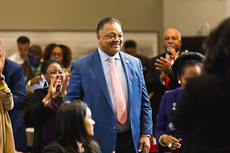Rev. Jesse Jackson - Sherman McCain Photography | Houston Portrait, Lifestyle & Advertising Photographer