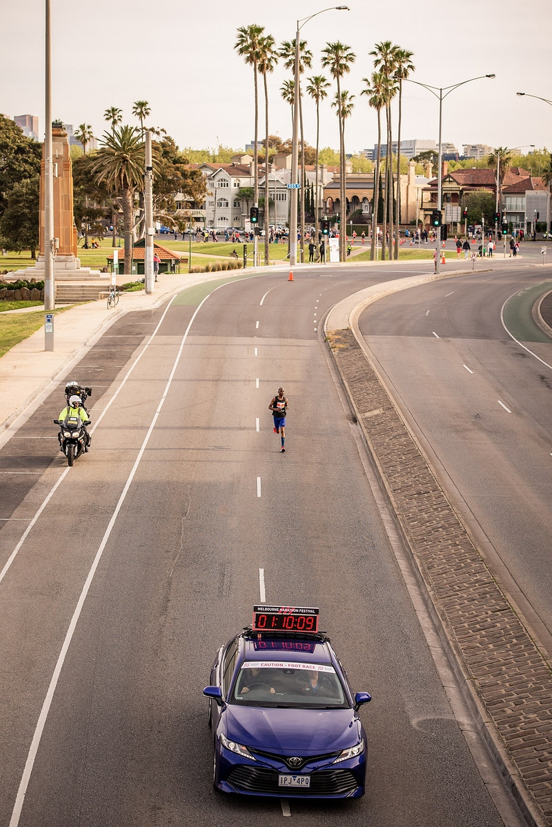 2019 Melbourne Marathon For Tempo Journal - SQUID STEVE