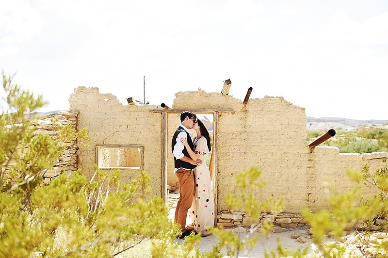 Claire And Read Terlinga Desert Elopement - Stephanie Parsley Photography