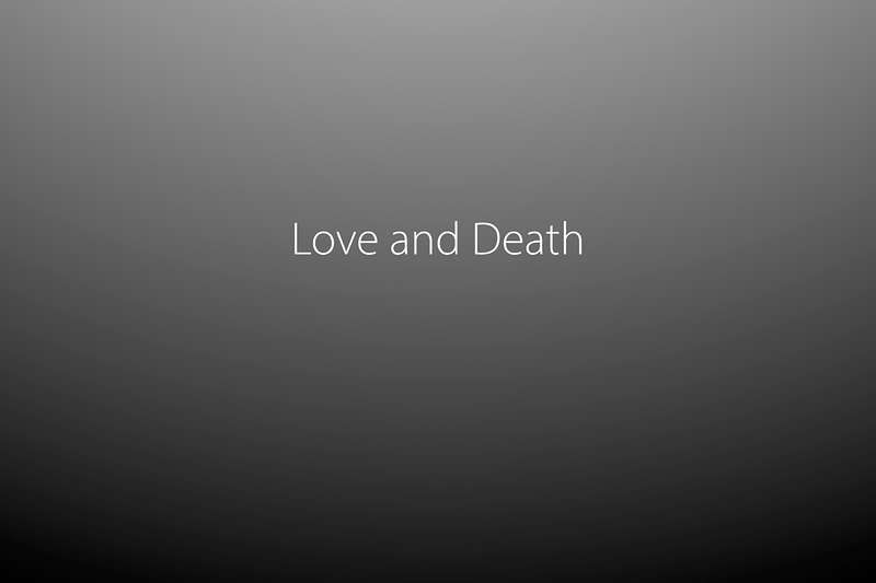 Love And Death - Steve Jones Photography