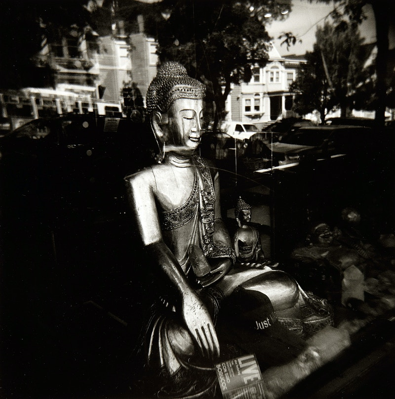 Buddha Reflecting On The World - Arie Knoops
