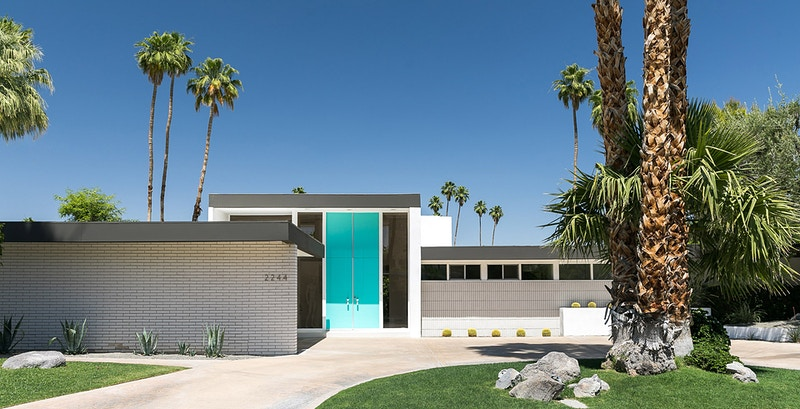Palm Springs Homes - Thaddeus Rombauer Photography