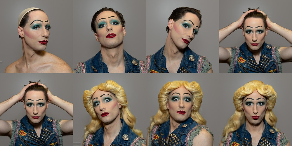 Hedwig and the Angry Inch Transformation Shoot - Suzanne Cordeiro Photography