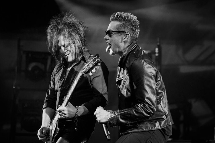 Steve Stevens and Mark McGrath - Suzanne Cordeiro Photography