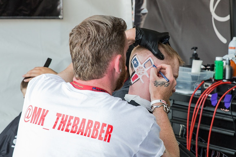 X Games Barber Shop - Suzanne Cordeiro Photography