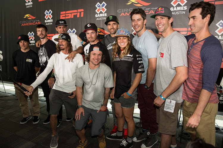 X Games 2014 Press Conference - Suzanne Cordeiro Photography