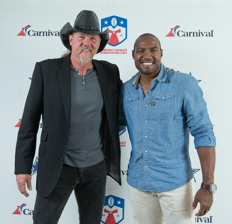 Trace Adkins and Darren Woodson - Suzanne Cordeiro Photography