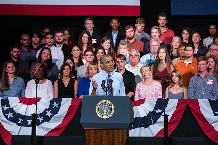 President Obama @The Paramount - Suzanne Cordeiro Photography