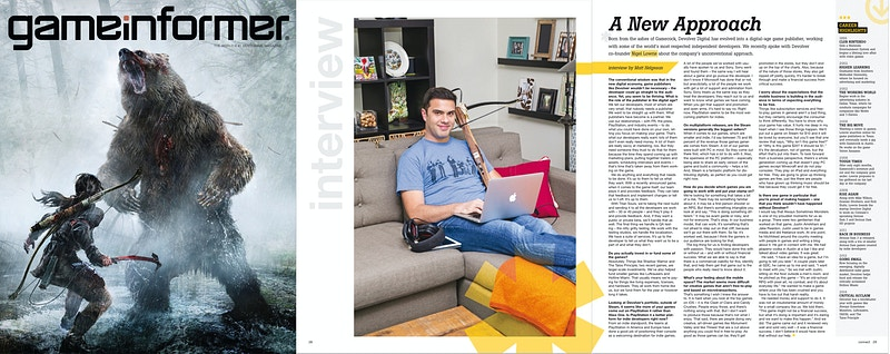 Game Informer Magazine - Suzanne Cordeiro Photography