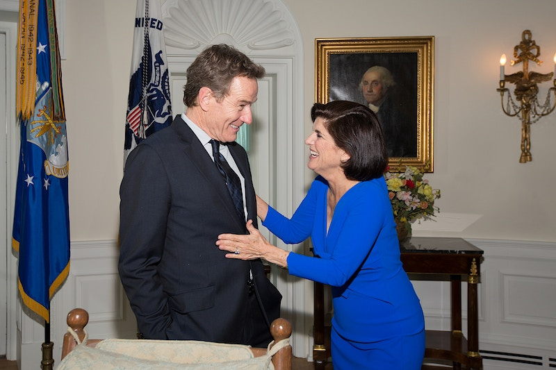 Luci Baines Johnson and Bryan Cranston - Suzanne Cordeiro Photography