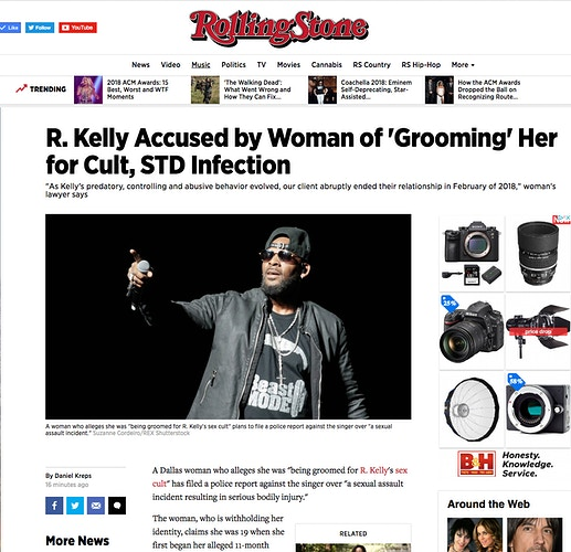 R. Kelly - Rolling Stone - Suzanne Cordeiro Photography