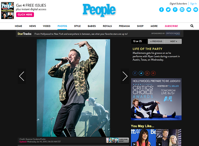 Macklemore & Ryan Lewis - Suzanne Cordeiro Photography