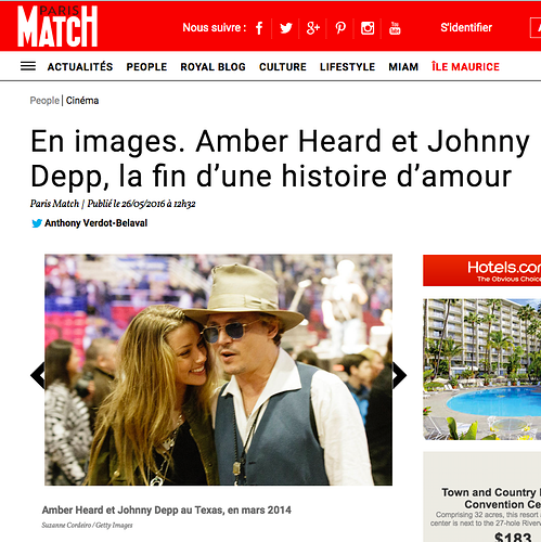 Johnny Depp and Amber Heard - Suzanne Cordeiro Photography