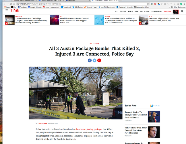 Austin Package Bomber Mark Conditt - Suzanne Cordeiro Photography