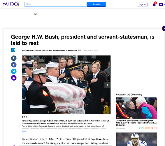 George H.W. Bush, president and servant-statesman, is laid to rest - Suzanne Cordeiro Photography