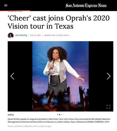 Oprah's 2020 Oprah's 2020 Vision tour in TexasVision tour in Texas - Suzanne Cordeiro Photography