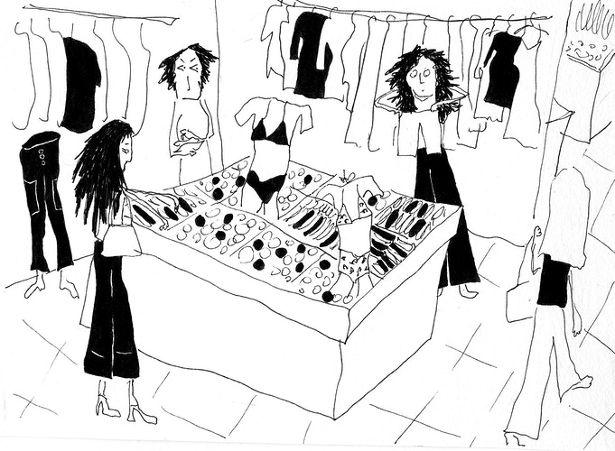 Shopping - Sylvie Guérard