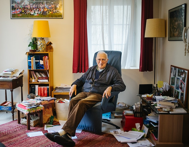 Jean Vanier For The Globe And Mail - ALEX CRETEY SYSTERMANS