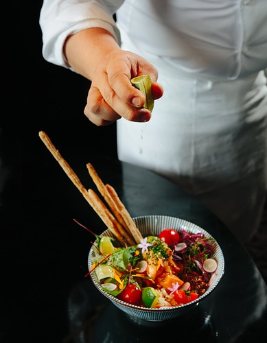 Poke Bowl For Lexpress Style 2 - ALEX CRETEY SYSTERMANS