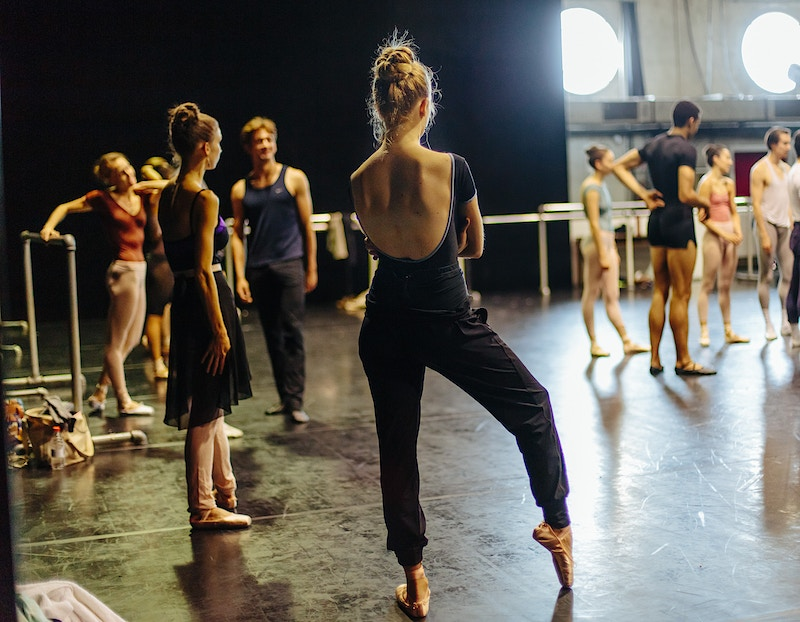 New York City Ballet In Paris For The New York Times - ALEX CRETEY SYSTERMANS