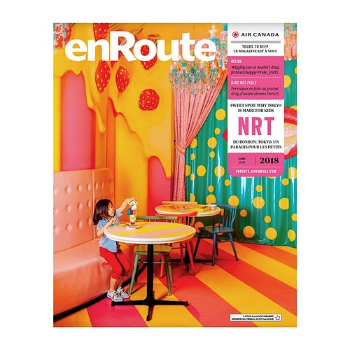 Japan Cover Story For Enroute - ALEX CRETEY SYSTERMANS
