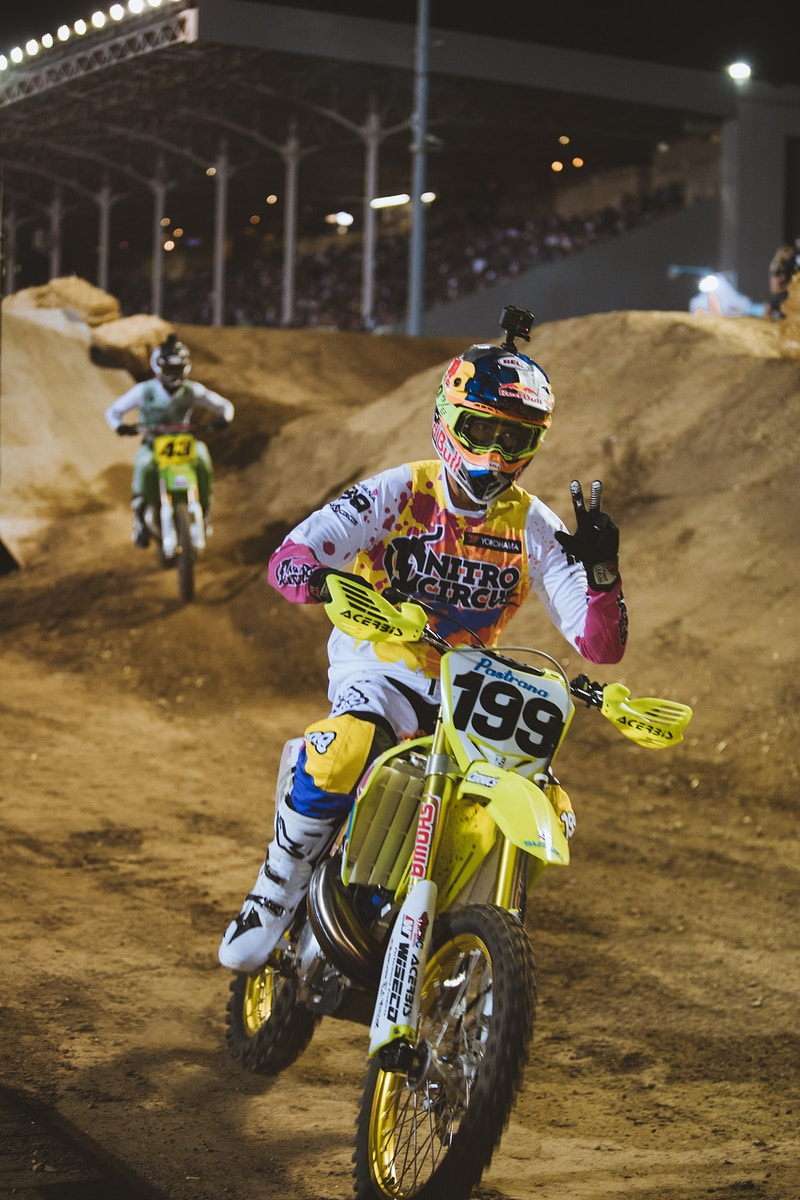 Travis Pastrana - Tanner Yeager