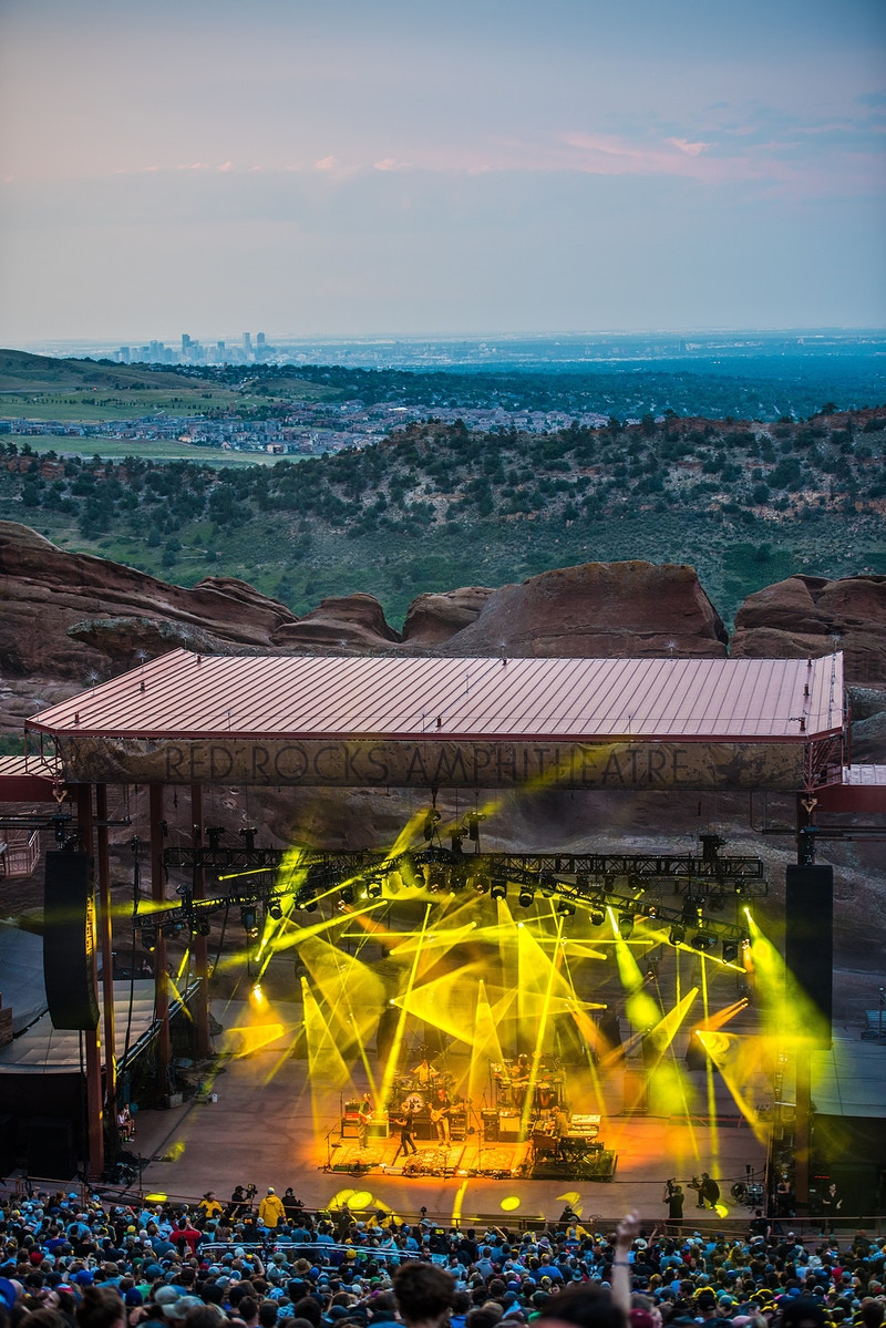 Red Rocks Amphitheatre - Tara Gracer