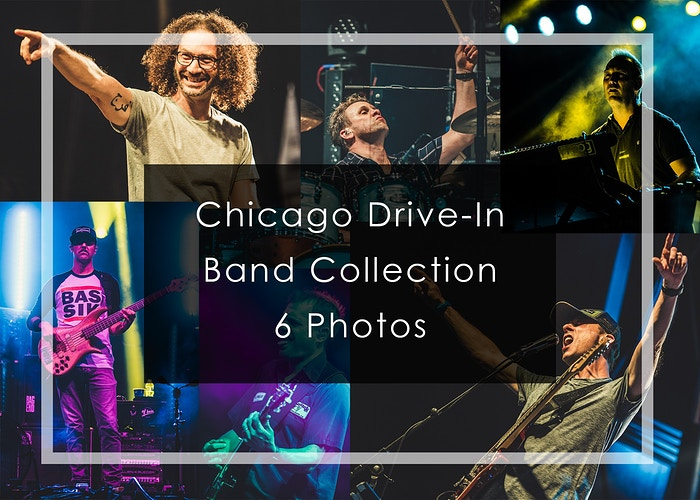 2020 Chicago Drive-In // Band Collection - Tara Gracer