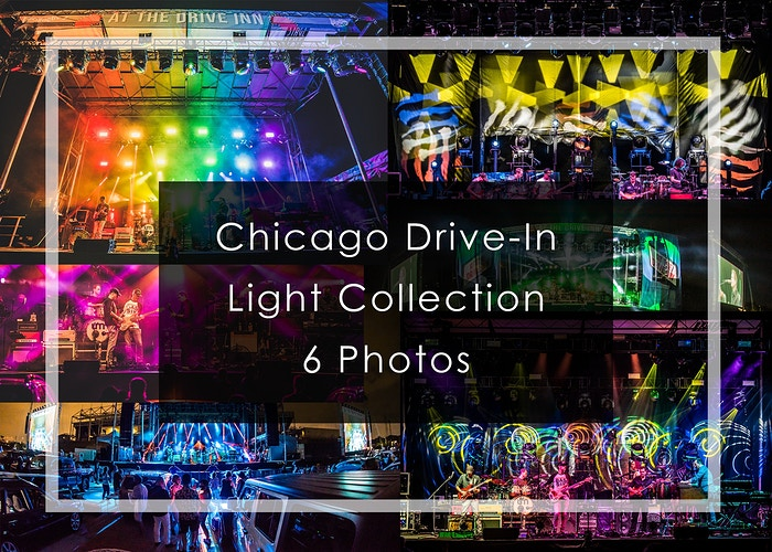 2020 Chicago Drive-In // Light Collection - Tara Gracer