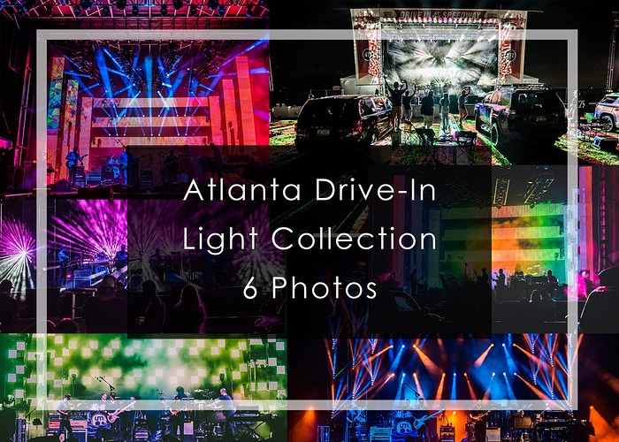 2020 Atlanta Drive-In // Light Collection - Tara Gracer