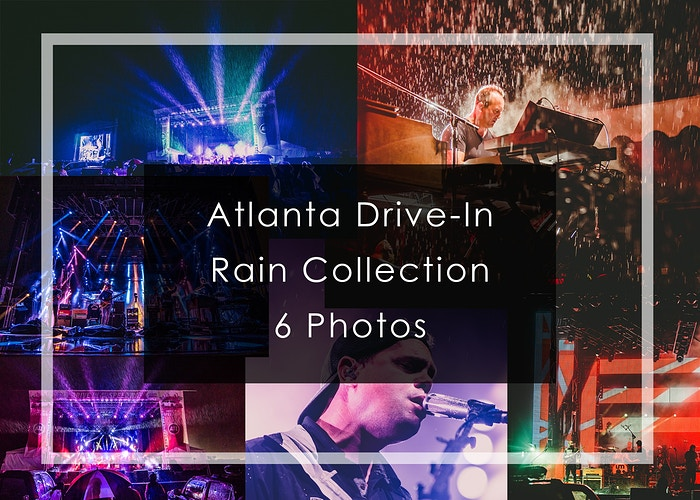 2020 Atlanta Drive-In // Rain Collection - Tara Gracer