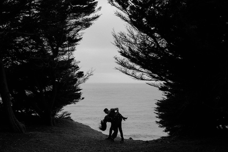 Megan Joe Engaged In Lands End Sutro Baths San Francisco Napa Bay Area Wedding Photographer - Taylor McCutchan Photography -Northern, California wedding photographer-