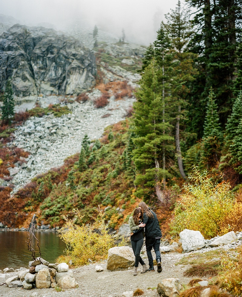 Ricki And Jesse At Castle Lake Northern California Photographer - Taylor McCutchan Photography -Northern, California wedding photographer-