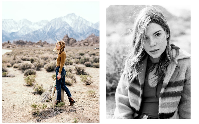 Courtney In The Alabama Hills Northern California Photographer - Taylor McCutchan Photography -Northern, California wedding photographer-