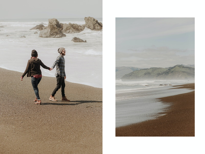 Nikki Kyle Adventure In The Lost Coast Northern California Wedding Photographer - Taylor McCutchan Photography -Northern, California wedding photographer-