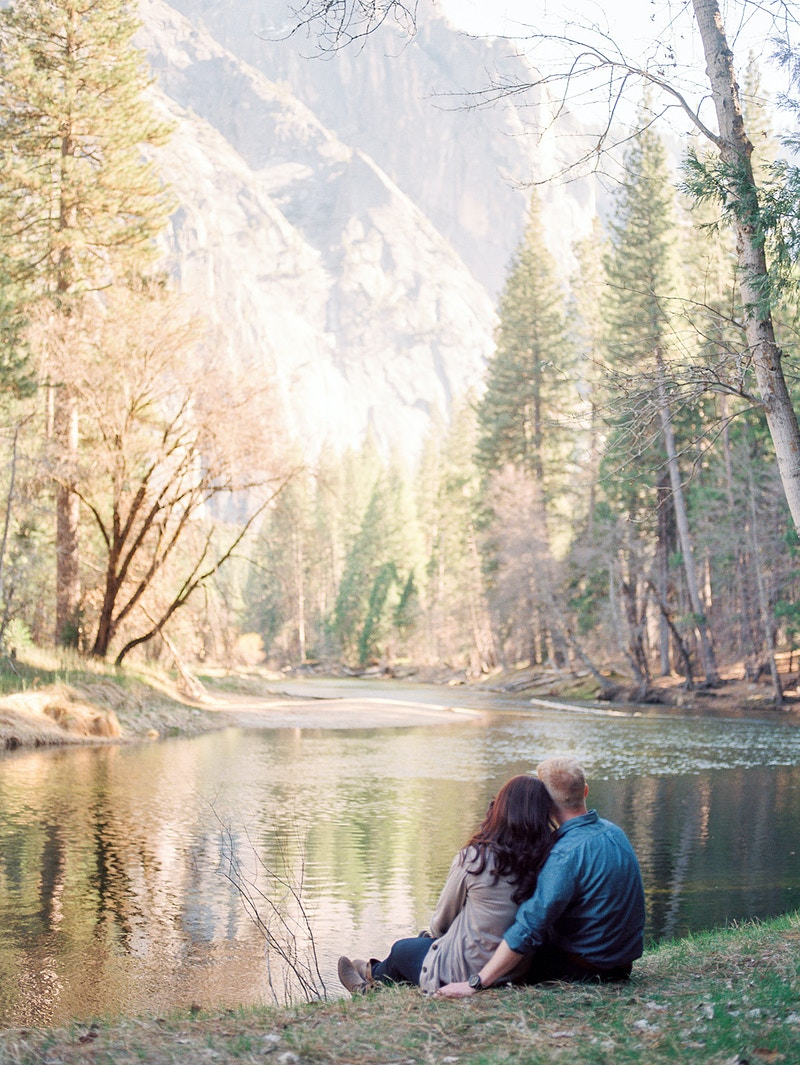 Brian Trish Engaged In Yosemite Northern California Photographer - Taylor McCutchan Photography -Northern, California wedding photographer-