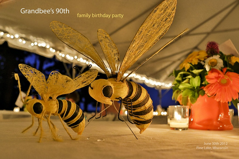 Grandbees 90th - Teddy Anderson