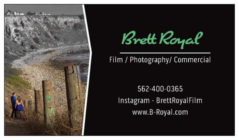 Contact Here! - Brett Royal Film (Check out Our Instagram)