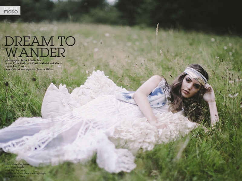 Dream To Wander For Modo Magazine Uk - THE W PORTRAITURE