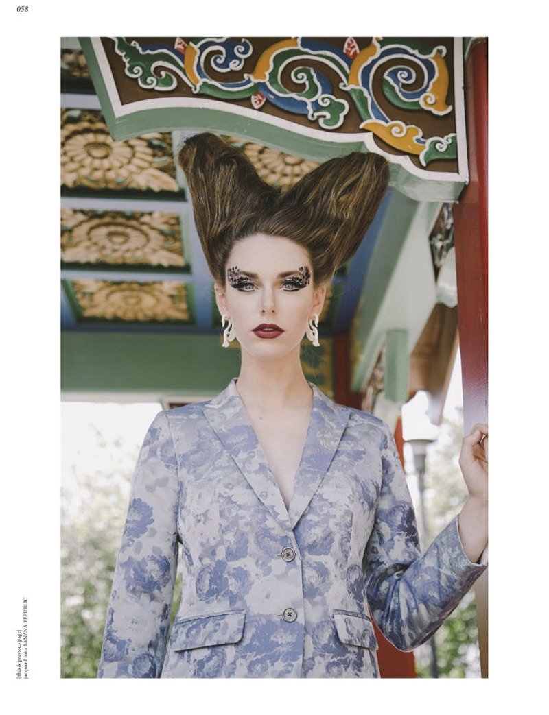 Maleficent For Defuze Magazine Uk - THE W PORTRAITURE