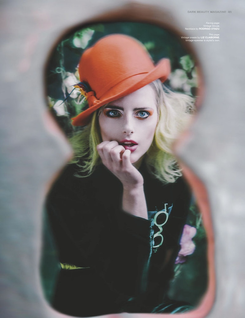 Lost In Wonderland For Dark Beauty Magazine - THE W PORTRAITURE