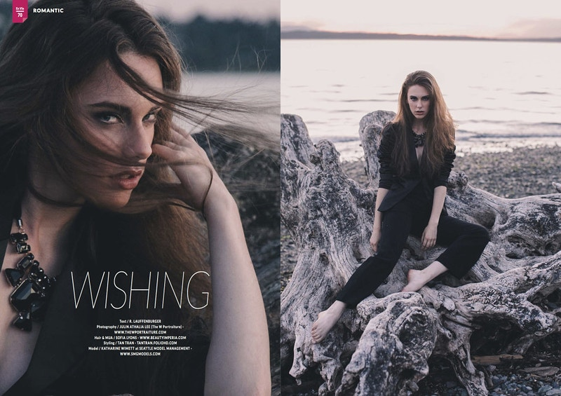 Wishing For En Vie Magazine - THE W PORTRAITURE