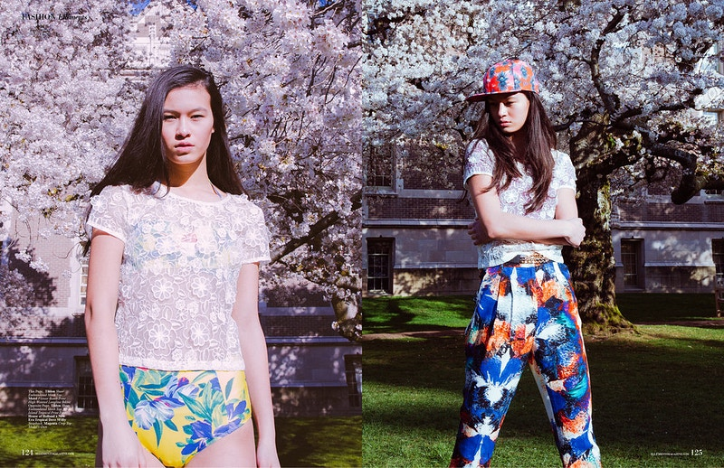 Flower Power For Ellements Magazine - THE W PORTRAITURE