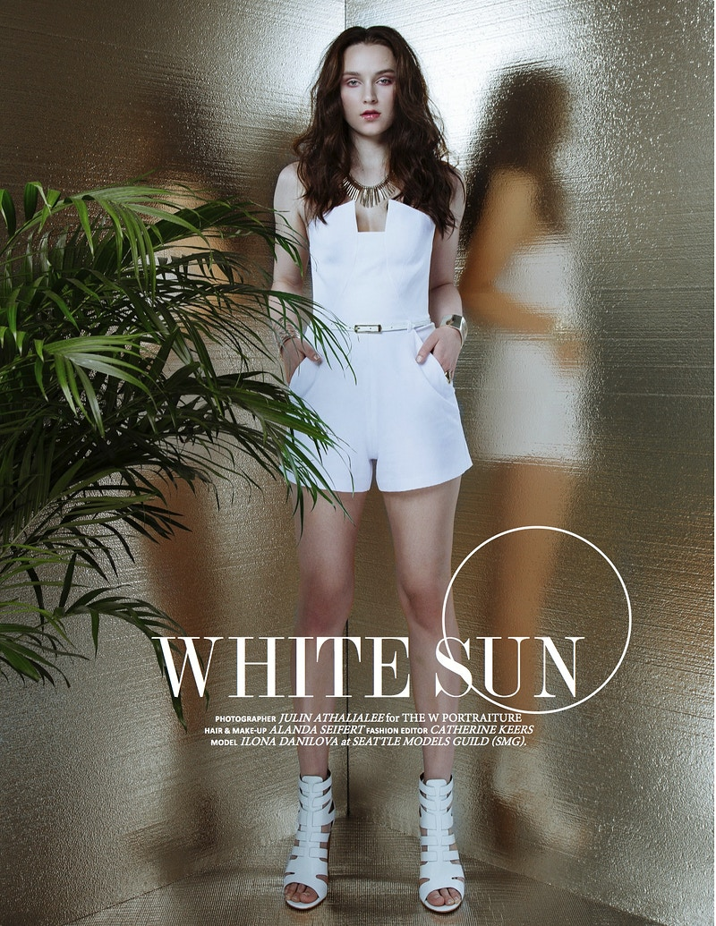 White Sun For Elegant Magazine - THE W PORTRAITURE