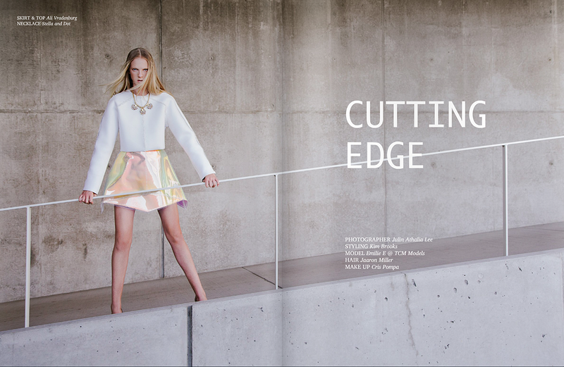 Cutting Edge For Atlas Magazine - THE W PORTRAITURE