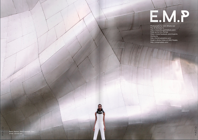 Emp For Hacid Magazine - THE W PORTRAITURE