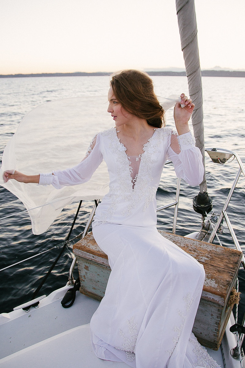 Sailing For Inside Weddings Magazine - THE W PORTRAITURE